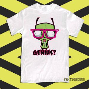 Invader Zim Gir Genius Duh Men's T-Shirt TEE Size S-2XL