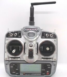 Spektrum dx7 dsm2 transmitter excellent condition mode2 with 1500mah battery