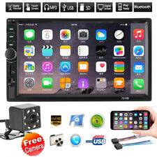 7in Doble 2din Coche Mp5 Mp3 Reproductor Bluetooth Tactil Estéreo Radio Fm USB +