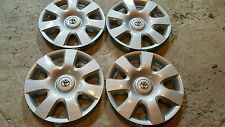 "Set of 4 Toyota Camry 15"" Hubcaps Wheelcovers 61115  2002 03 04"