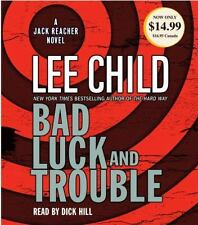 Lee Child BAD LUCK & TROUBLE   CD *NEW* FAST 1st Class Ship !!