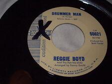 REGGIE BOYD Drummer Man/Cotton Picker 45 Liberty Promo R&B Blues Soul Popcorn