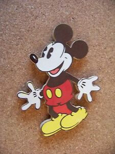 Disney character wood refrigerator or .... magnet Mickey Mouse old style