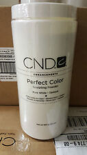 Creative CND Nail Perfect Color Sculpting Powder PURE WHITE Opaque 32 oz Acrylic