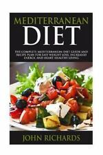 7 Day Meal Plan, Shopping List, and Practical Tips: Mediterranean Diet : The...