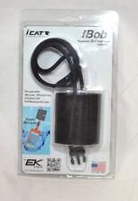 Icat IBob FLoatable Dri Cat Case Black Landyard 11501C iPhone 4 4S 5 Galaxy NEW