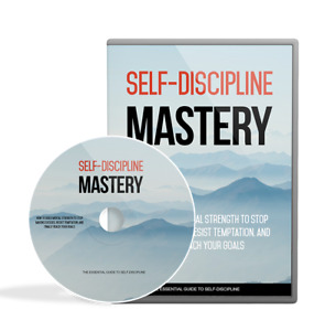 Self Discipline Mastery DVD