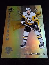 Sidney Crosby 2016-17 SP Authentic Spectrum FX Gold /50 Penguins