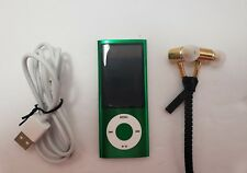 Apple iPod Nano 5th Generation 8GB Green with box and accessories