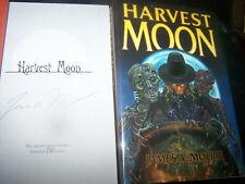 HARVEST MOON Signed James Moore CEMETERY DANCE Alan Clark Cover Art HORROR NOVEL