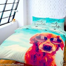 Catherine Lansfield Its a Dogs Life Duvet Cover Set Multi Double