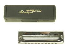 Harmonica Diatonic Hohner Meisterklasse Ms 580/20 New / New