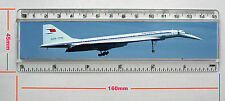 "TUPOLEV TU-144 CONCORDSKI 6"" RULER 155MM X 29MM INSERT PHOTO (R638N)"