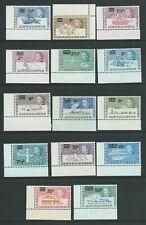 British Antarctic Territory SG24-37 1971 Decimal Currency Unhinged Mint