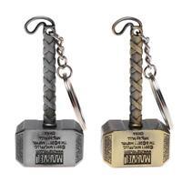 Avenger League Vintage Thor Hammer Keychains Key Rings for Men US Captain Best
