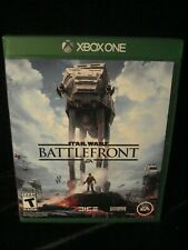 Xbox One STAR WARS BATTLEFRONT complete Adult Owned