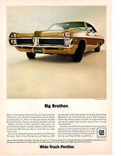 1967 PONTIAC CATALINA 2+2 428/360 HP ~ ORIGINAL PRINT AD