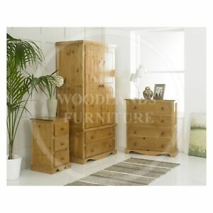 HANDMADE SOLID PINE MOROCCAN 3 PIECE BEDROOM SET, MANY COLOURS  (ASSEMBLED)