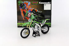 New-Ray Toys kawasaki KX450F Bud racing motocross MXGP model  1/12 Scale