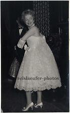 Olivia de Havilland en londres, original-photo de 1958