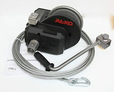ALKO Optima Seilwinde 901-A mit Seil Abrollautomatik Handwinde Handseilwinde