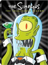 The Simpsons: The Fourteenth Season 14 Fourteen ~ BRAND NEW 4-DISC DVD SET