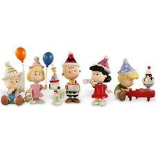 Lenox Peanuts 6pc Birthday Party Figurine Set Charlie Brown Snoopy NEW MSRP $250