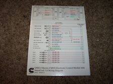 Cummins QSB5.9 CM850 SmartCraft 1.0 Electrical Wiring Diagram Manual