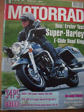 MOTORRAD Zeitschrift 9, April-94 BMW F650 Yamaha XV535 Kawasaki VN-15 KTM Harley