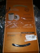 Traeger Wood Pellet Storage Lid and Filter Kit Airtight Lids White New