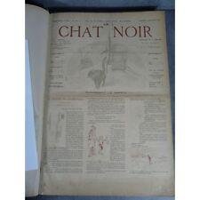 Le Chat noir BD Steinlen Verlaine Paris de La boheme nuit caricature humour 98 n