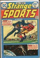 Strange Sports 1973 series # 3 very good comic book