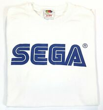 "Original SEGA Shirt "" SEGA "" White Size S Vintage Merch"
