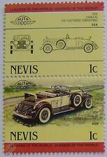 1932 CADILLAC V16 FLEETWOOD Car Stamps (Leaders of the World / Auto 100)