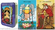 Morgan Greer Tarot Tin NEW Sealed 78 Cards Evocative art Traditional symbolism