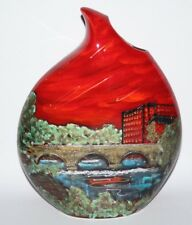Anita Harris Art Pottery - The Belper Heritage Collection - Large Teardrop Vase
