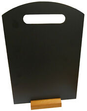 A3 Table Top Landscape Blackboard Handle Hole Menu Stand Display Chalk Board UKB