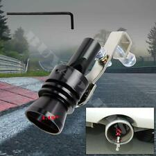 Universal Large Black Turbo Sound Exhaust Whistle Blow off Valve Simulator L