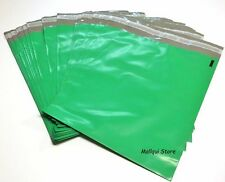 5 GREEN COLOR POLY MAILER BAGS 14.5 x 19 BOUTIQUE SHIPPING ENVELOPE MAILING