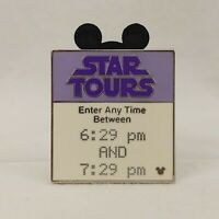 WDW - Hidden Mickey 2007 Series 2 - Fast Pass - Star Tours Disney Pin 58979