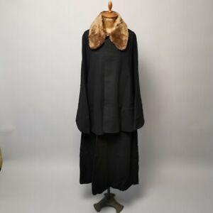 Inverness Cape Coat / Japanese Kimono Vintage Antique Mens Sherlock DeadStock ?