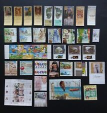 Israel 1999 Complete Year Set Of Stamps Issues 38 Stamps +1 Souvenir Sheet