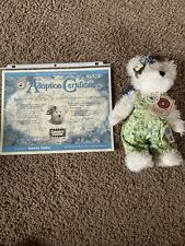 Boyds Flora Mae Goodbear-Country Clutter Excl. 2001 w/ Adoption Certificate