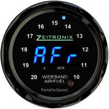 Zeitronix ZR-2 Multi Gauge for Wideband Black / Blue LED