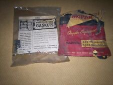 NOS MOPAR 1960 1961 Plymouth 1961 Dodge Carb Gasket Package  361 & 383