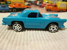 1986 BLUE-BOX TOYS #7 Ford Thunderbird T-Bird Car Makes ENGINE NOISE #3586 MINT