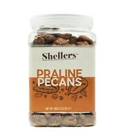 Shellers - Delicious and crunchy Praline Pecans jar of 2.3 lbs (37 oz)