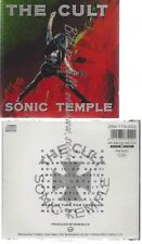 CD--Sonic temple   The Cult