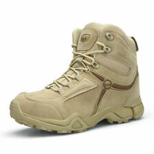 Mens Military Tactical Combat Hiking Ankle Boots Outdoor Comfort Desert Shoes SZ
