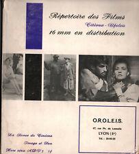 Revue de Cinéma Image et Son Répertoire des Films 16mm - Hors Série Adv 5
